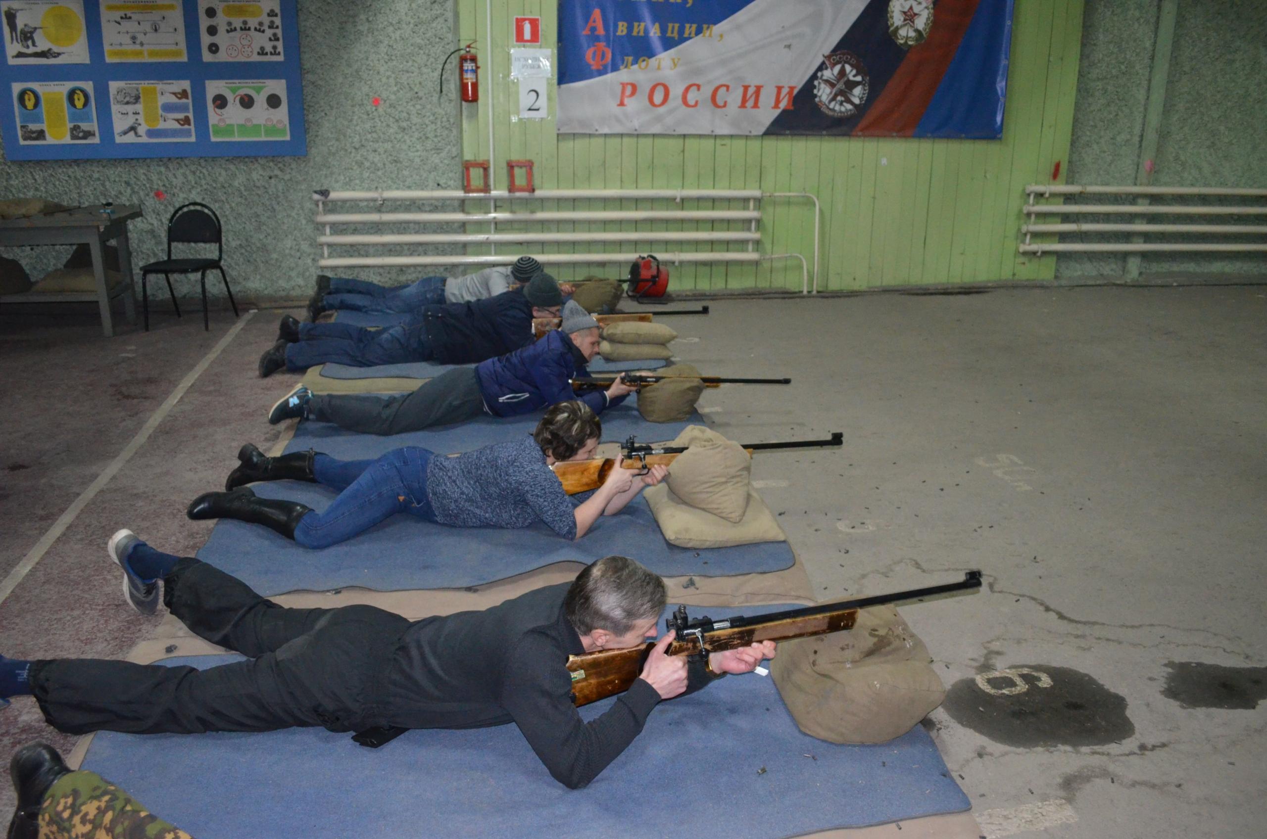 турнир ТОООП по пулевой стрельбе