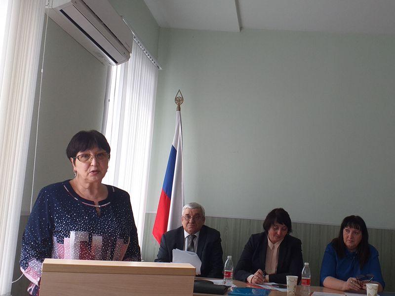 Отчётно-выборная конференция в объединенной отраслевой профсоюзной организации учреждений социальной защиты населения Тамбовской области