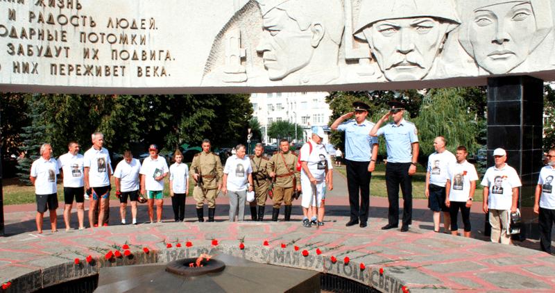 профсоюзной и ветеранской организациями УМВД России по Тамбовской области был организован и проведен велопробег «Память»
