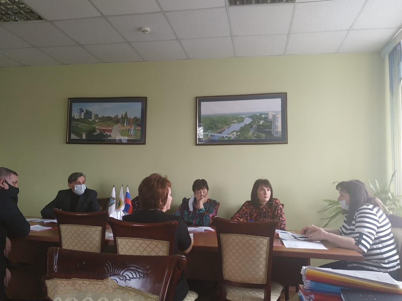 Заседание Президиума региональной организации 16 марта