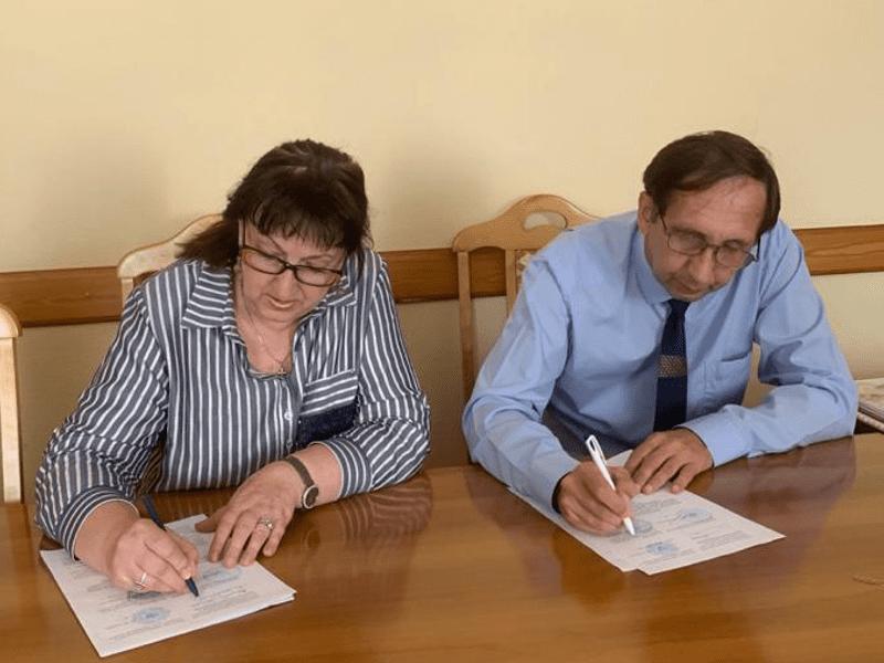 Рабочая встреча с начальником управления культуры и архивного дела области